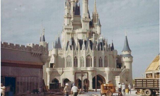 Fotos Raras da Construção do Magic Kingdom