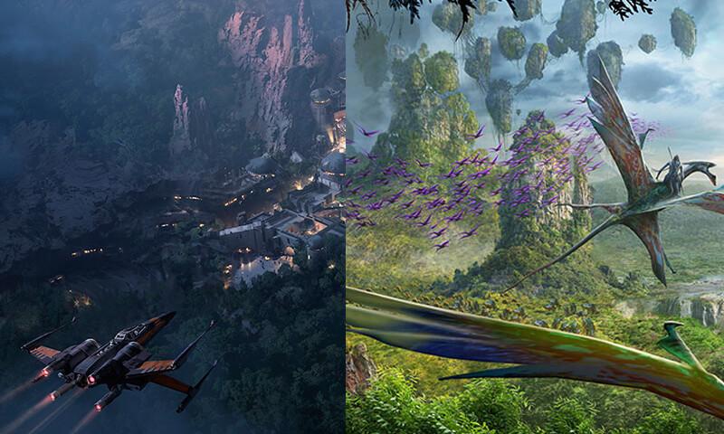 Disney finalmente anuncia data oficial de abertura de PANDORA e STAR WARS LAND