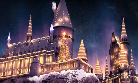 Festividades Natalinas e show noturno no Wizarding World of Harry Potter!