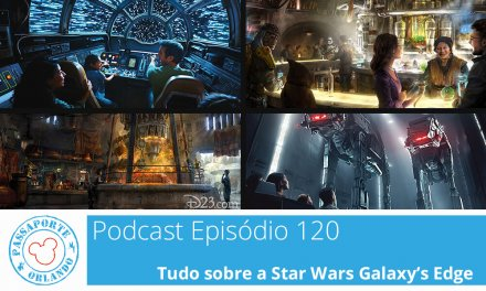 PODCAST EP. 120 – Tudo sobre a Star Wars Galaxy's Edge